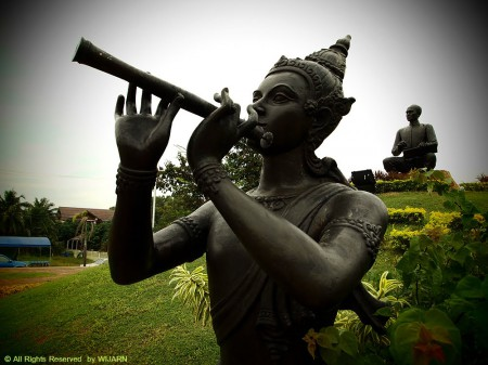 Sunthon Phu Monument Poet