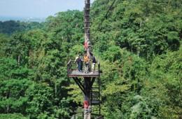 Asiens længeste svævebane i Rayong
