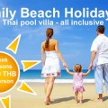 Family Beach Holiday package tour VIP Real Estate Mae Rampheung Beach Rayong Thailand
