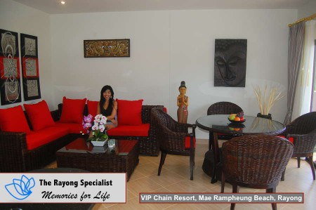 Oasis Garden Pool Villa in VIP Chain Resort Mae Rampheung Beach Rayong 00013