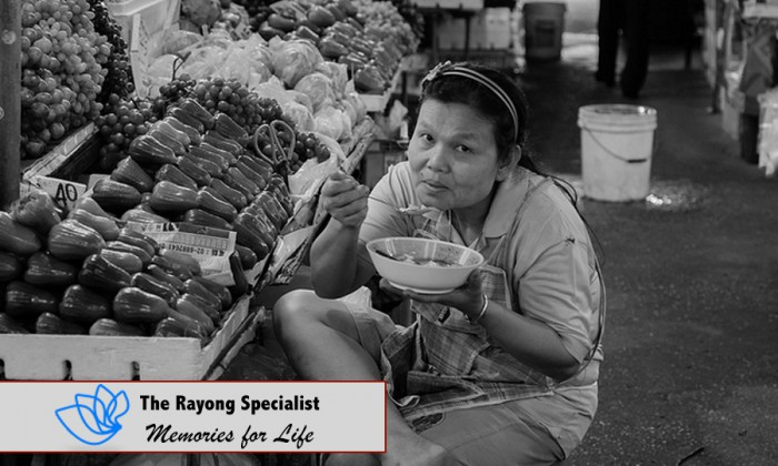Fruit markets in Rayong, Tapong