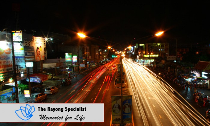 Rayong at night