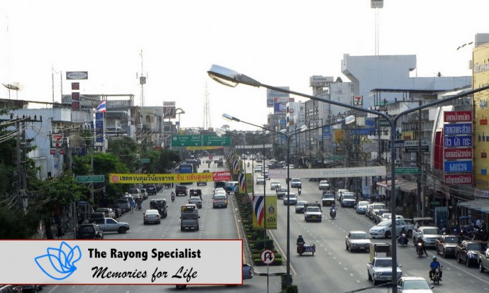 Rayong city center