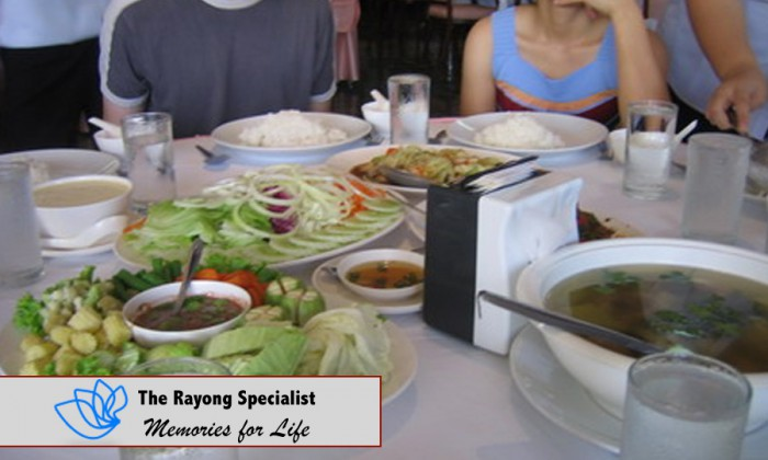 Rayong has a lot of good food