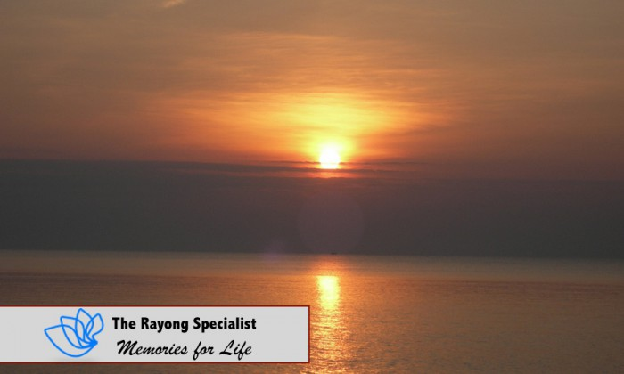 Sunset on Koh Samet Rayong