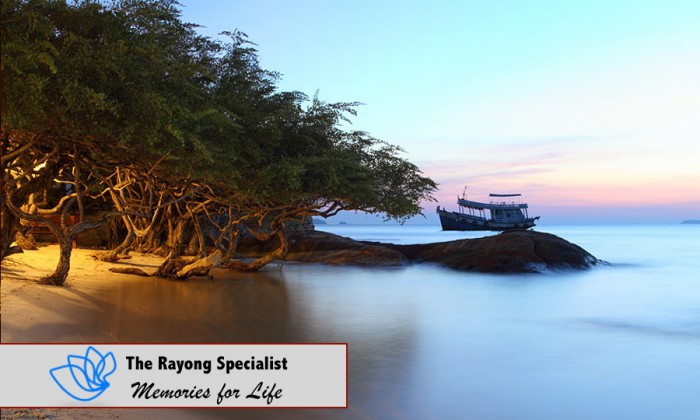 The Koh Samet island in Rayong