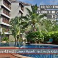 E Rent a cheap apartment in VIP Chain Resort Rayong