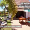 E Rent an Oriental Thai luxury pool villa and suite house in VIP Chain Resort, Rayong