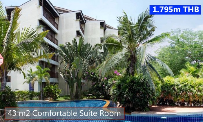 Tropical Beach Apartment in VIP Chain Resort Rayong Thailand 1