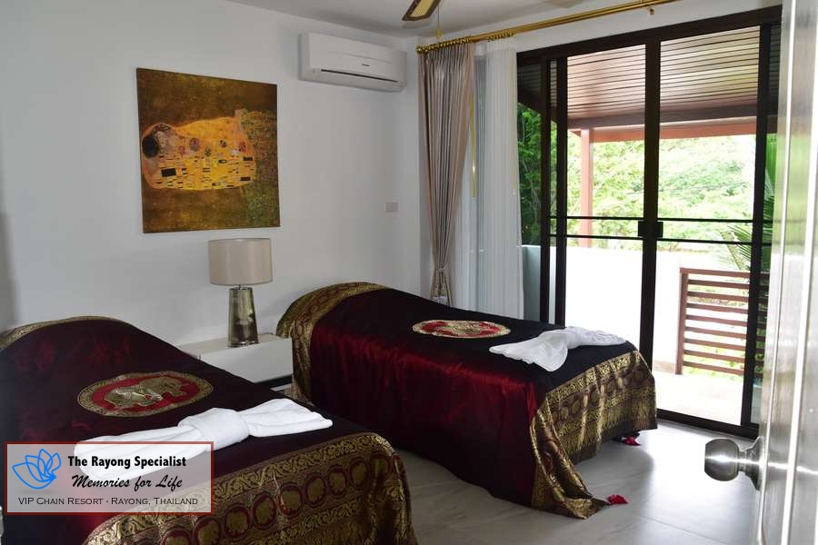 Villa in vip chain resort rayong thailand 12 the rayong for Bedroom 77 hotel rayong