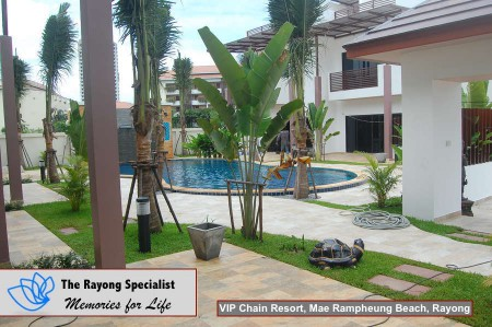 Oasis Garden Pool Villa in VIP Chain Resort Mae Rampheung Beach Rayong 00011